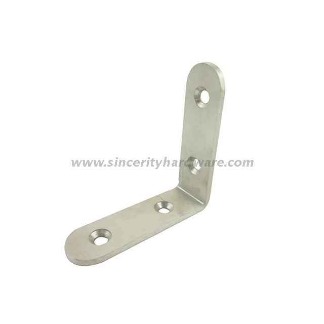 SH-8102-1520: Factory Wholesale Galvanized Steel Angle Bracket for Wood House