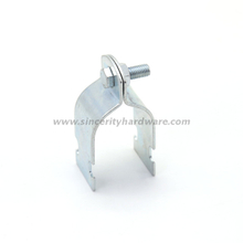 galvanized steel heavy duty strut pipe clamp