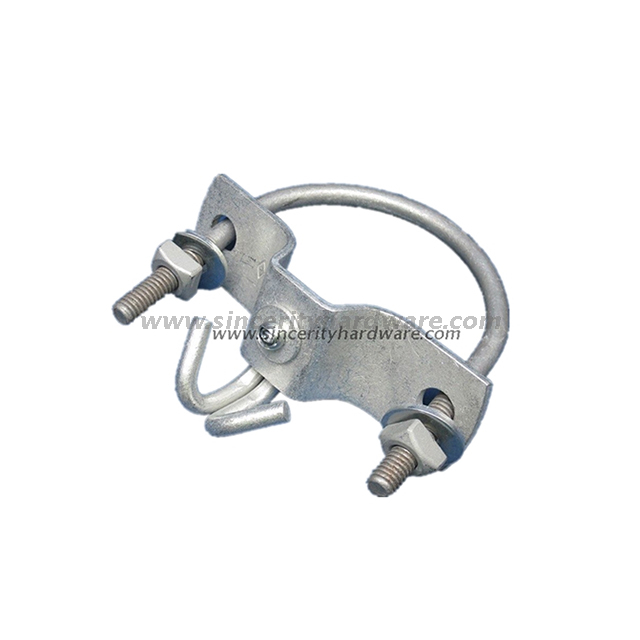 Galvanized Steel Drop Wire Mast Bracket