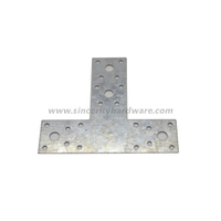 SH-8210-45160: T Shape Galvanized Steel Angle Bracket