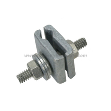 Galvanized D Cable Lashing Clamp