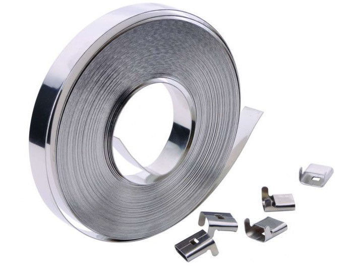Ten Features Of Stainless steel banding strap