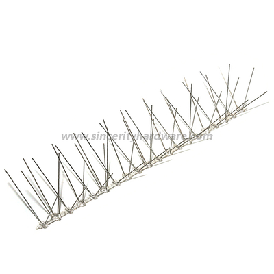 SHPC-42: 50cm Plastic Base Stainless Steel Bird Spikes for Narrow Surface