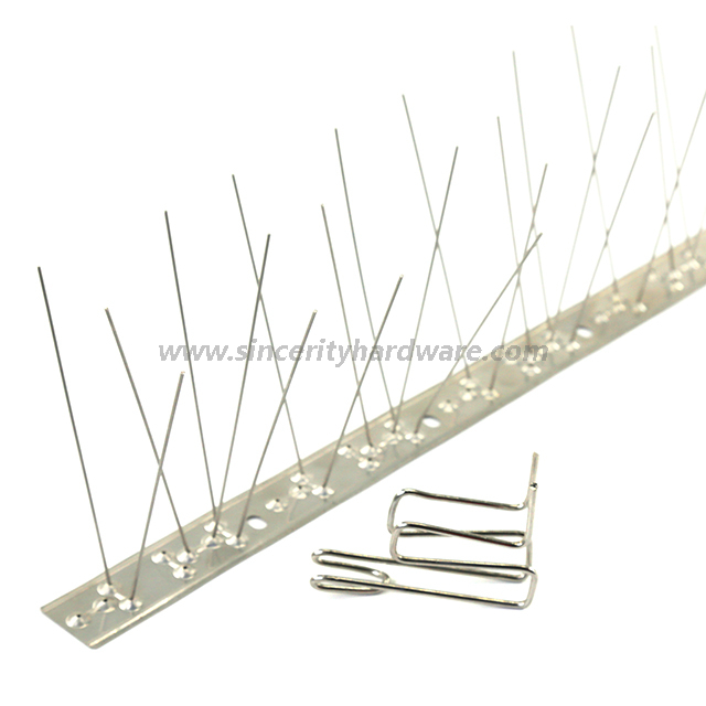 SHIC-4: Anti Bird Roosting Spike Installing Clips Stainless Steel 304