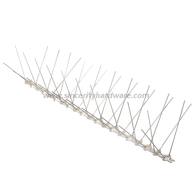 SHPC-53: Size 50CM Eco-friendly Bird Control Spikes with Plastic Base
